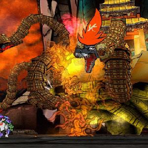 The legendary monster Orochi
