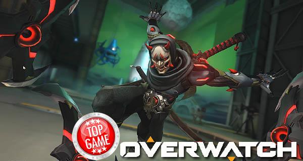 Overwatch Oni Genji Skin Cover
