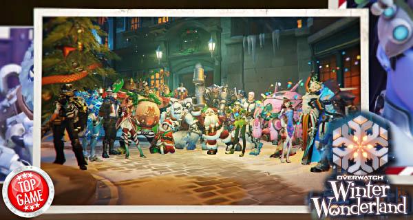 Overwatch Winter Wonderland Update Cover