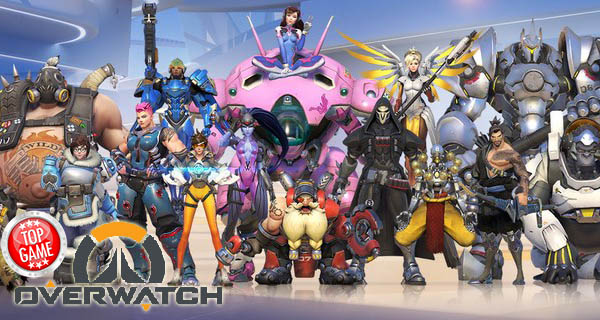 Overwatch Heroes Cover