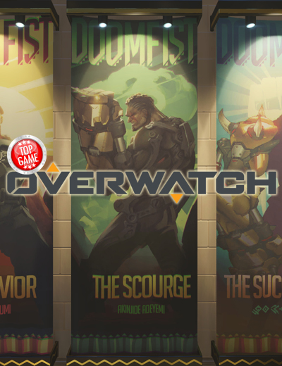Doomfist Hints Are All Over the Overwatch PTR!