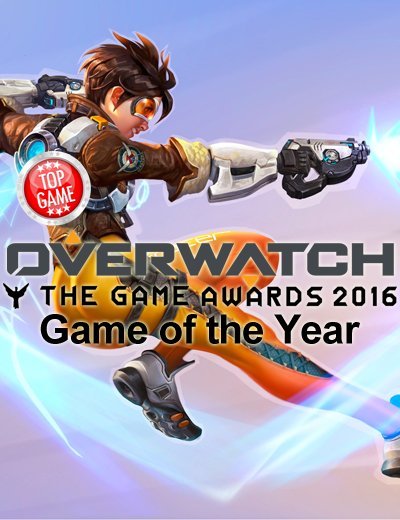 Overwatch is Game of the Year in The Game Awards 2016!
