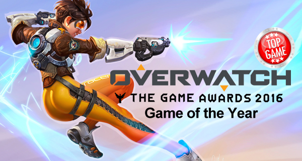 Game of the Year Is Overwatch Cover