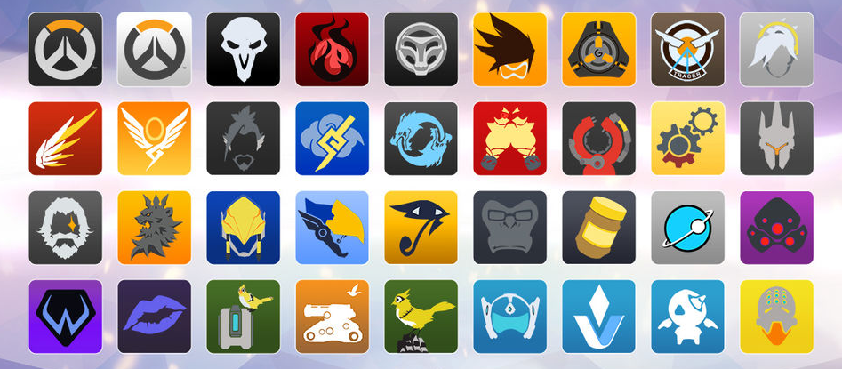 Overwatch Loot Box Player Icons (Source: http://overwatch.wikia.com/)