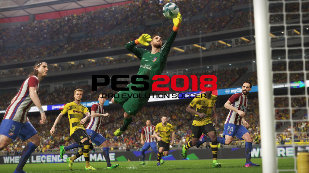PES 2018 Demo Cover