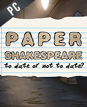 Paper Shakespeare To Date Or Not To Date