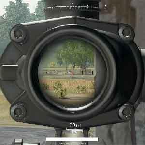 The sniper man