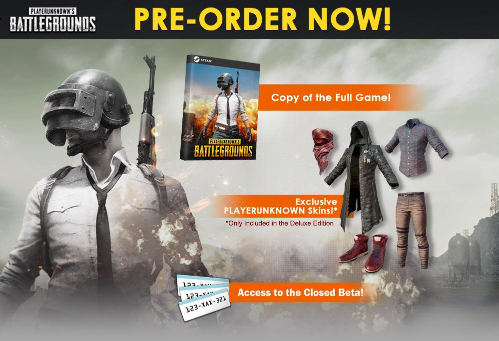 Playerunknown's Battlegrounds PreOrder