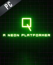 Q A Neon Platformer