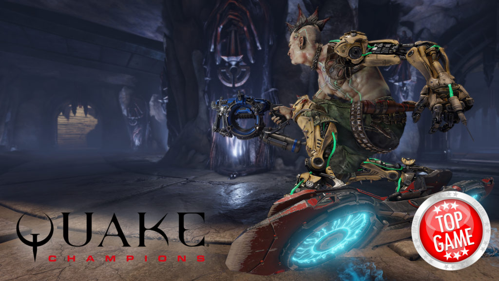 Quake Champions Large Scale Tech Test Cover