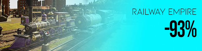 Best discount for Railway Empire CD key