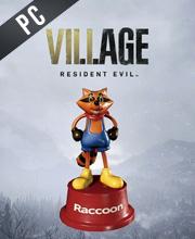 Resident Evil Village Mr. Raccoon Weapon Charm