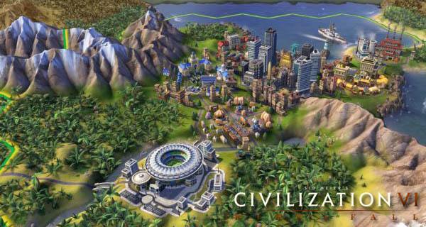 Civilization 6 Rise and Fall Civs Cover