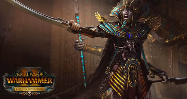 Watch Total War Warhammer 2 Rise of the Tomb Kings Gameplay