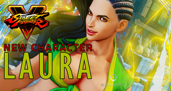 Street Fighter 5 Has a New Female Character and She's Totally Badass!