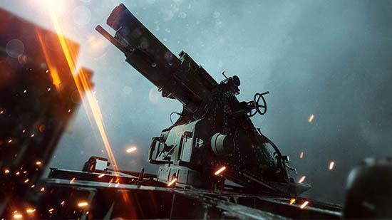 New Stationary Weapon Battlefield 1