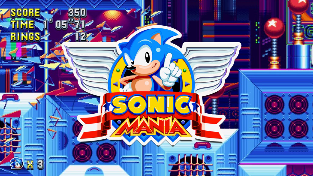 Sonic Mania Special Stages Cover