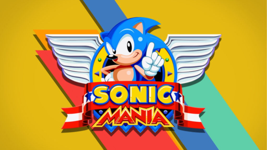 Sonic Mania Official Launch Cover
