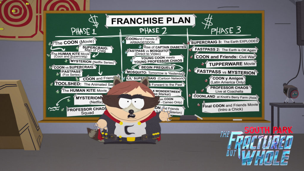 South Park The Fractured But Whole Release Date Cover