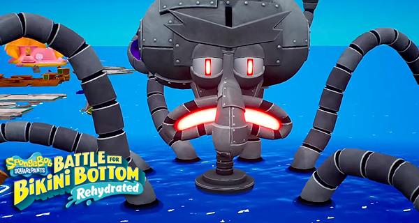 SpongeBob SquarePants: Battle for Bikini Bottom Rehydrated Trailer