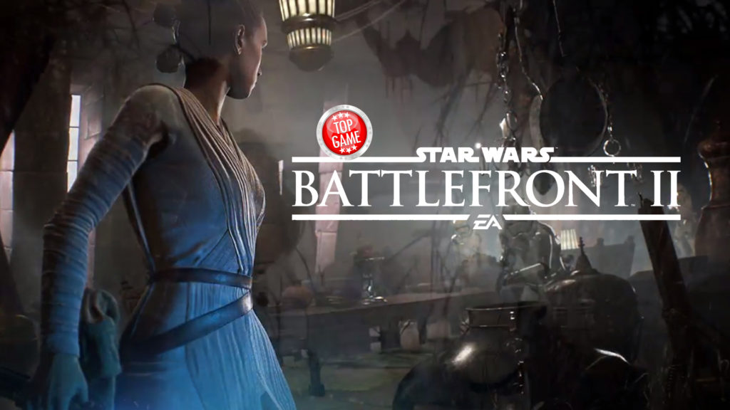 Star Wars Battlefront 2 and Overwatch Cover