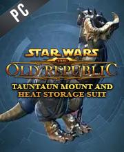 Star Wars The Old Republic Tauntaun Mount & Heat Storage Suit