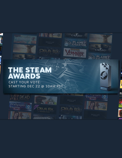 The Steam Awards 2016 Voting Opens! Here Are the Nominees!