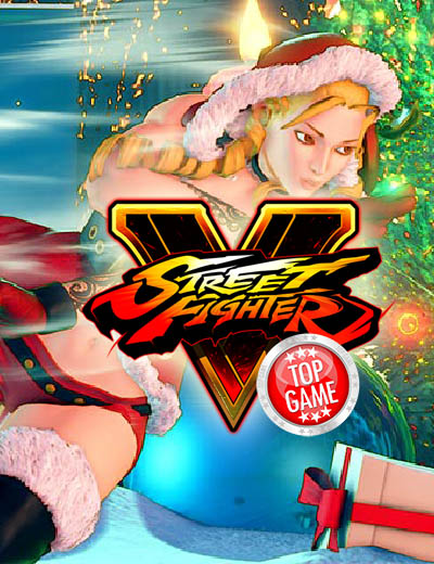 Street Fighter V Holiday DLC Has Themed Costumes And Stage!