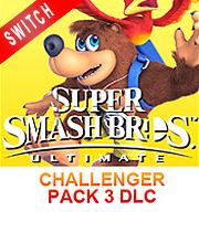 Super Smash Bros Ultimate Challenger Pack 3