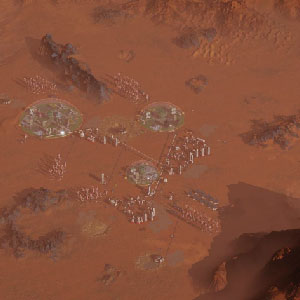 Surviving Mars colony building