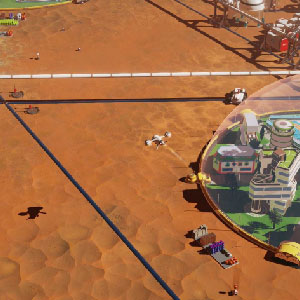 Surviving Mars geoscape dome