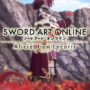 Sword Art Online: Alicization Lycoris Trailer Features Customization and Bonding