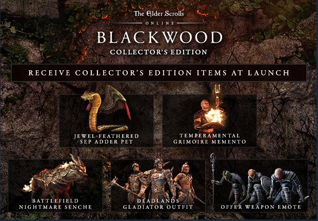 The Elder Scrolls Online: Blackwood Collectors Edition