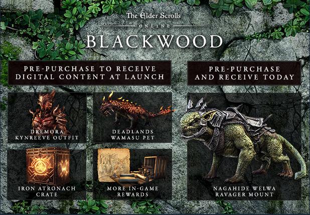 The Elder Scrolls Online: Blackwood Blackwood Pre Order