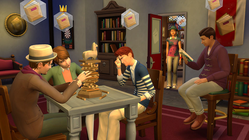 The Sims 4 Get Together allows players to create their Club's signature spot