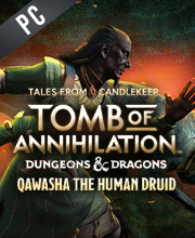 Tales from Candlekeep Qawasha the Human Druid
