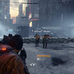 The Division PS4 battle Field