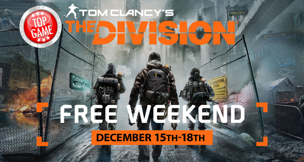The Division Is Free To Play Cover