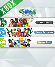 The Sims 4 Bundle Seasons, Jungle Adventure, Spooky Stuff