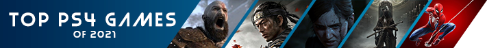 Top PS4 games of 2021