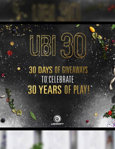 Ubisoft 30 Days Of Giveaways: Free Stuff Until Christmas!