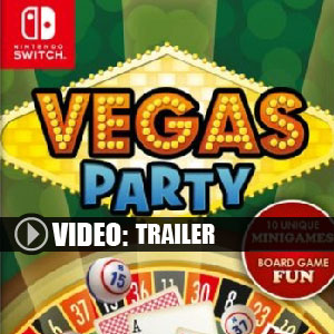 Vegas Party Nintendo Switch Prices Digital or Box Edition