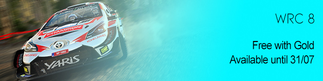 WRC 8 Free with Gold