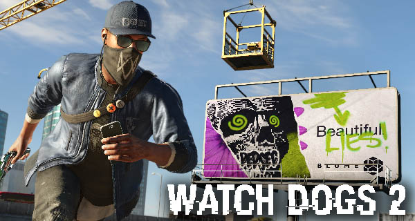 Watch Dogs 2 Pre-Order Bonus Mission Cover