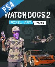 Watch Dogs 2 Pixel Art Pack
