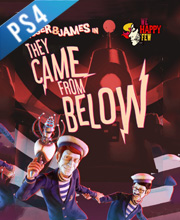 We Happy Few Roger and James in They Came From Below