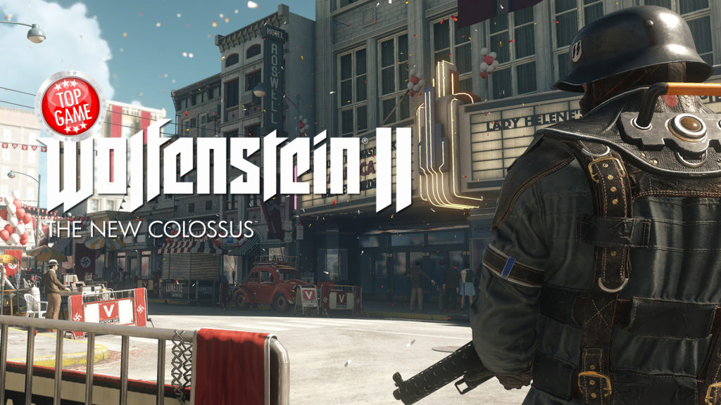 Wolfenstein 2 The New Colossus Gameplay Cover