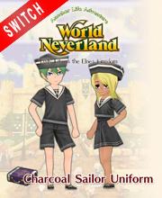 WorldNeverland Elnea Kingdom Charcoal Sailor Uniforms Set