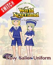 WorldNeverland Elnea Kingdom Navy Sailor Uniforms Set