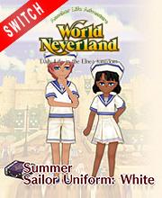 WorldNeverland Elnea Kingdom Summer Sailor Uniforms White Set